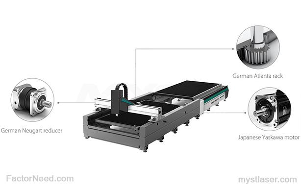 پلت فرم میز دستگاه برش لیزر