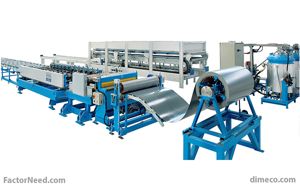 Types of sandwich panel machines with their advantages and disadvantages