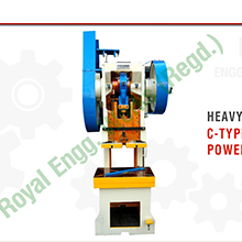 Press Machines-Power Presses-Royal Presses